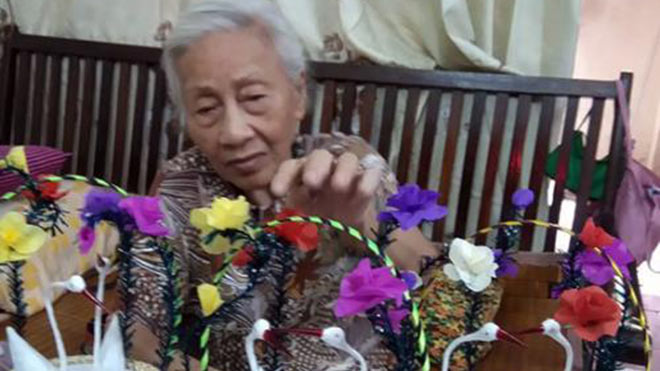 Thiên nga bông -đồ chơi Trung Thu đậm nét văn hóa Việt