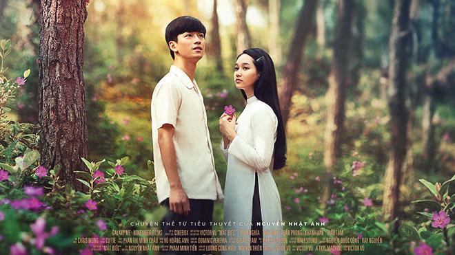 Phim 'Mắt biếc' công bố poster 2 lãng mạn và lịch chiếu chính thức