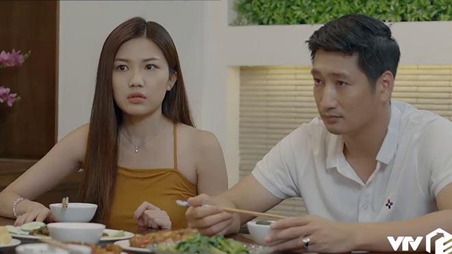 'Hoa hồng trên ngực trái'tập 22:Thái 'sốc' khi Bống tiết lộ 'em trong bụng cô Trà là em gái mà'