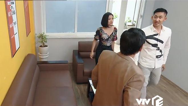 'Hoa hồng trên ngực trái' tập 32:Khuê xin nghỉ việc công ty Bảo, San - Khang 'có biến'