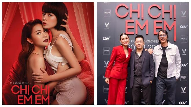 Xôn xao cảnh 'nóng'phim 'Chị chị em em', nhà sản xuất nói gì?