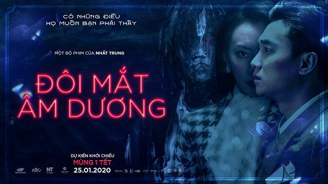 Quốc Trường - Bảo Thanh bất ngờ đóng phim kinh dị 'Đôi mắt âm dương' ra mắt đúng mùng 1 Tết 2020