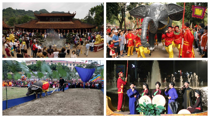 Những lễ hội truyền thống diễn ra trong tháng Giêng không thể bỏ qua tại miền Bắc