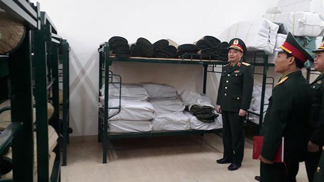 Dịch bệnh do chủng mới virus corona: Bộ Tư lệnh Thủ đô Hà Nội chuẩn bị kỹ các điều kiện cách ly 950 công dân Việt Nam trở về từ vùng có dịch