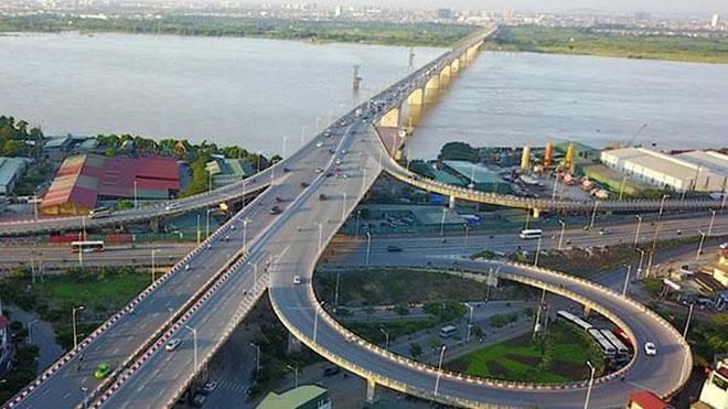 Triển khai dự án xây dựng cầu Vĩnh Tuy - giai đoạn 2 hơn 2.500 tỷ đồng