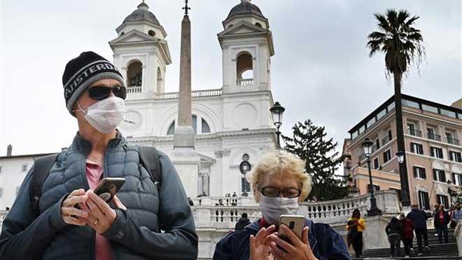 Dịch COVID-19: Số ca tử vong tại Italy tăng lên 233 người