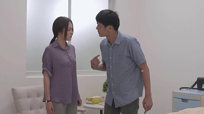 Tiệm ăn dì ghẻ tập 33: Phát bực với Minh, con gái nguy kịch vẫn còn ghen tuông mù quáng