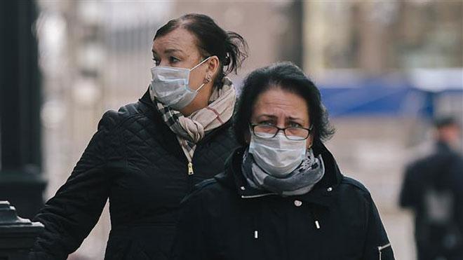 Dịch COVID-19: Nga trở thành nước đứng thứ ba thế giới về số người nhiễm virus SARS-CoV-2