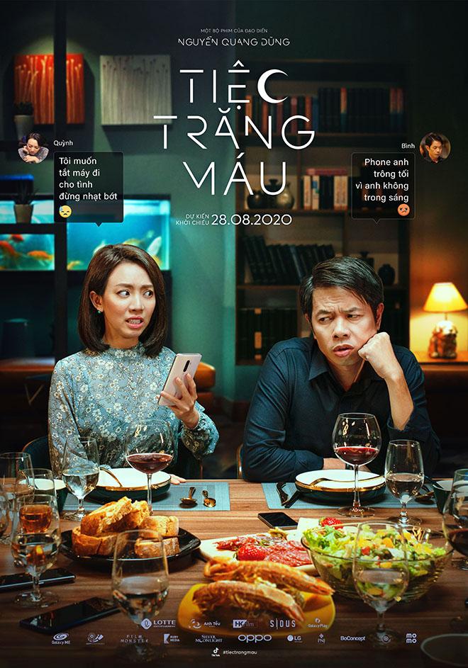 Tiệc trăng máu, Phim Tiệc trăng máu, Phim mới, Xem phim, Phim rạp, Phim hot, Thu Trang, Thái Hòa, Kiều Minh Tuấn, Kaity Nguyễn, phimmoi, phim chiếu rạp