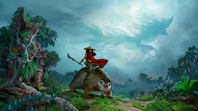 Nữ diễn viên gốc Việt Kelly Marie Tran lồng tiếng cho phim mới của Disney