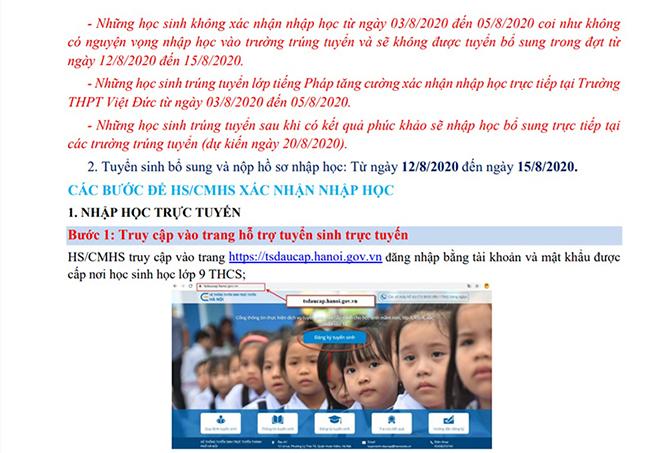 Xác nhận nhập học vào 10, xác nhận nhập học lớp 10 trực tuyến, xác nhận nhập học, Xác nhận nhập học lớp 10, Xác nhận nhập học lớp 10 Hà Nội, xác nhận nhập học trực tuyến