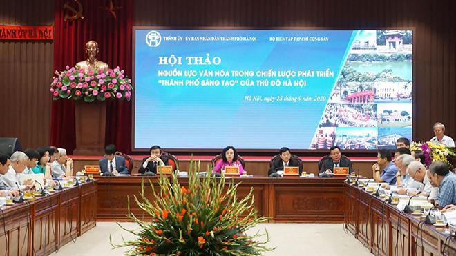 Nguồn lực văn hóa trong chiến lược phát triển 'Thành phố sáng tạo' của Hà Nội