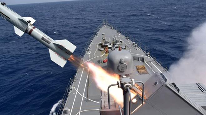 Nhật Bản có kế hoạch đóng tàu chuyên dụng phòng thủ tên lửa
