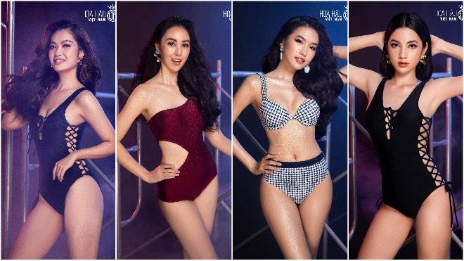 Hoa hậu Việt Nam 2020: Dàn thí sinh 'đốt mắt' khán giả với bikini