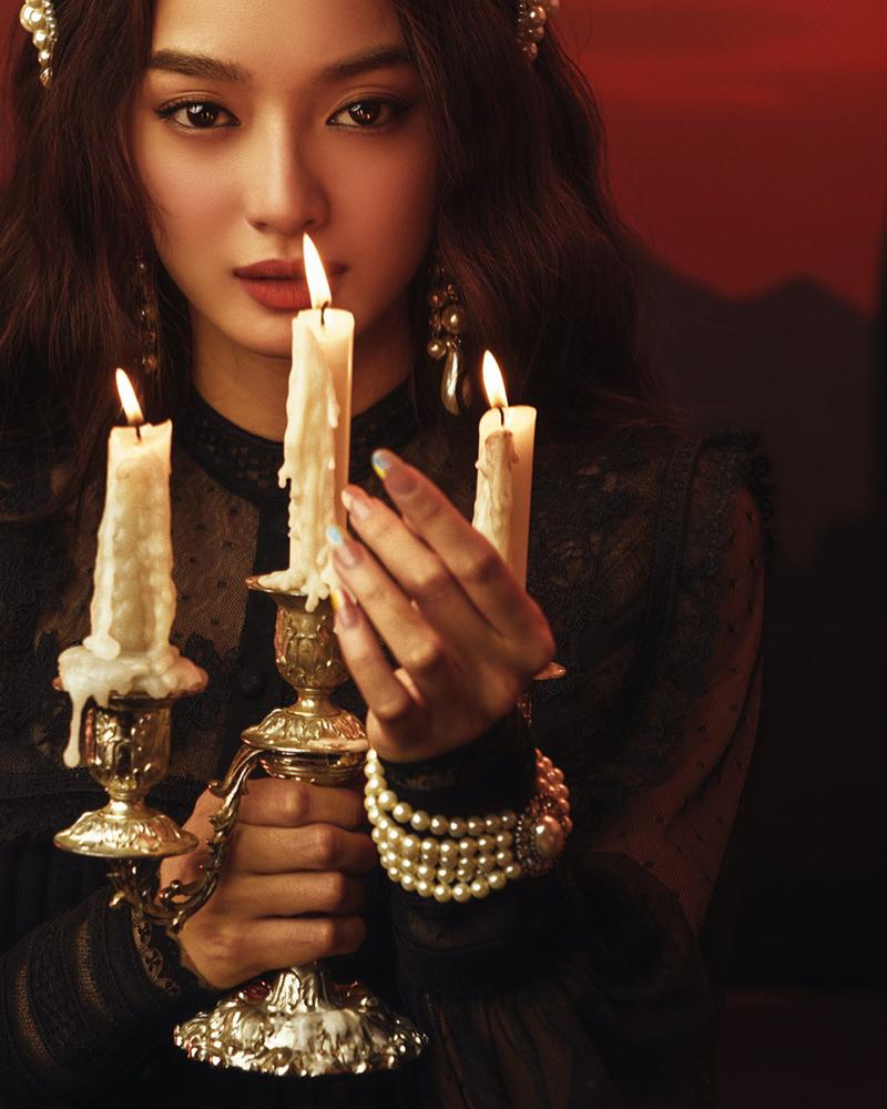 Kaity Nguyễn, Tiệc trăng máu, Gái già lắm chiêu V, Gái già lắm chiêu, ảnh Halloween, Halloween, tiec trang mau, xem tiec trang mau