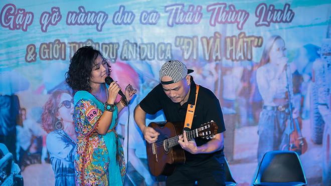 Thái Thùy Linh dồn hết tâm sức và tiền bạc để 'Du ca - đi và hát'