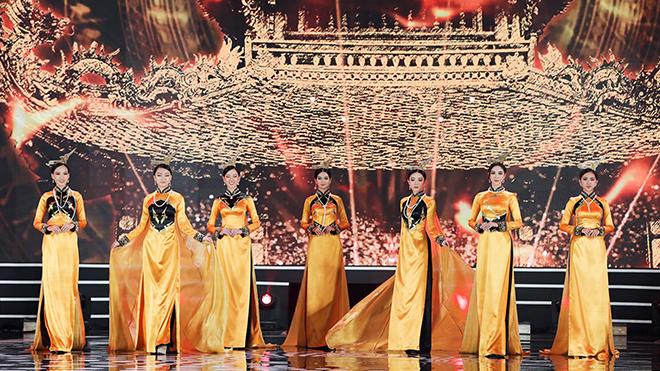 Chung kết Hoa hậu Việt Nam 2020: Top 35 đẹp dịu dàng với 5 bộ sưu tập áo dài