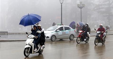 Bắc Bộ và Bắc Trung Bộ tiếp tục duy trì tình trạng rét, Nam Trung Bộ và Nam Bộ đề phòng thời tiết nguy hiểm