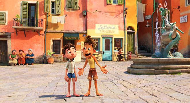 Luca, Mùa hè của Luca, phim hoạt hình, phim hoạt hình Disney, Disney, Pixar, phim mới, phim rạp, phim hay, Phim Luca, phim hoạt hình Luca