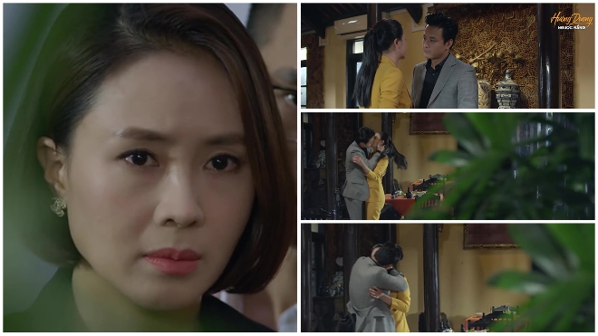 'Hướng dương ngược nắng': Châu thấy Kiên 'cưỡng hôn' Minh, chuyện gì đang xảy ra?
