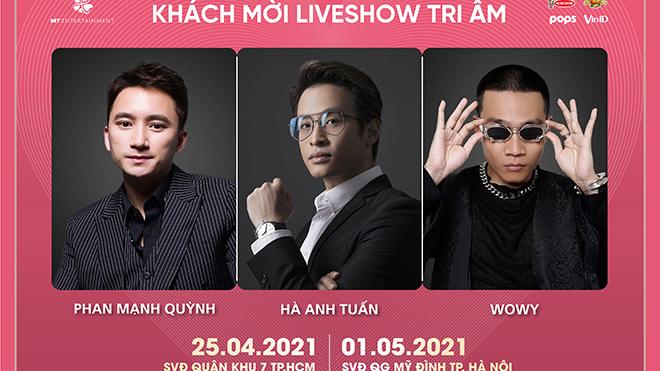Rapper Wowy cùng Hà Anh Tuấn, Phan Mạnh Quỳnh hứa hẹn làm 'bùng nổ' liveshow Mỹ Tâm