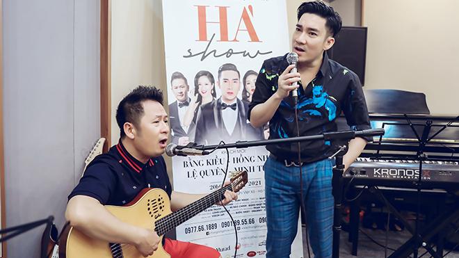 Liveshow Quang Hà: Bằng Kiều đệm đàn, Á hậu Ngô Thúy Hà tái xuất