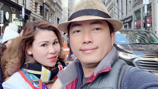 Cuộc sống vợ chồng diễn viên Kinh Quốc trước khi người vợ đại gia bị bắt