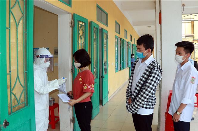 Tình hình dịch Covid-19, Covid-19 mới nhất, Dịch Covid ở Nam Định, Xét nghiệm, trường lê quý đôn nam định, ca nhiễm ở trường lê quý đôn, SARS-CoV-2