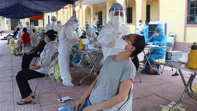 Cập nhật dịch Covid-19 chiều 6/6: Xuất hiện ca dương tính tại nhà máy trong KCN, tỉnh Bắc Ninh khẩn trương truy vết