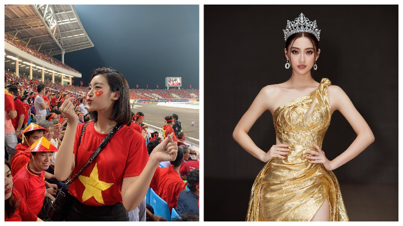 Cặp Hoa hậu 'song Linh' hào hứng với Euro 2020