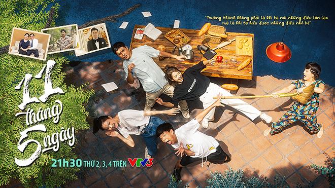 Phim 11 tháng 5 ngày, 11 tháng 5 ngày tập 1, Thanh Sơn, Xem phim 11 tháng 5 ngày, Lịch phát sóng phim 11 tháng 5 ngày, Vân Dung, Quang Thắng, tập 1 phim 11 tháng 5 ngày