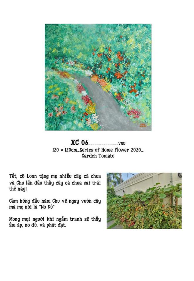 Xèo Chu, họa sĩ Xèo Chu, Xèo Chu đấu giá tranh, dịch Covid-19, phòng chống dịch Covid-19
