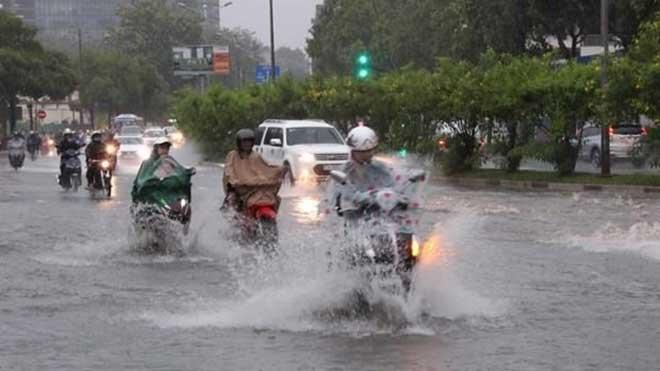 Thời tiết ngày 18/7: Nam Trung Bộ, Tây Nguyên và Nam Bộ tiếp tục có mưa dông