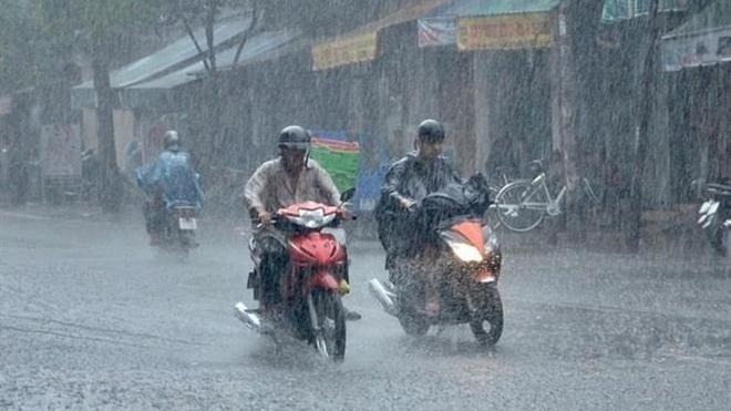 Thời tiết ngày 15/8: Bắc Bộ và Thanh Hóa có nơi mưa to, đề phòng thời tiết nguy hiểm