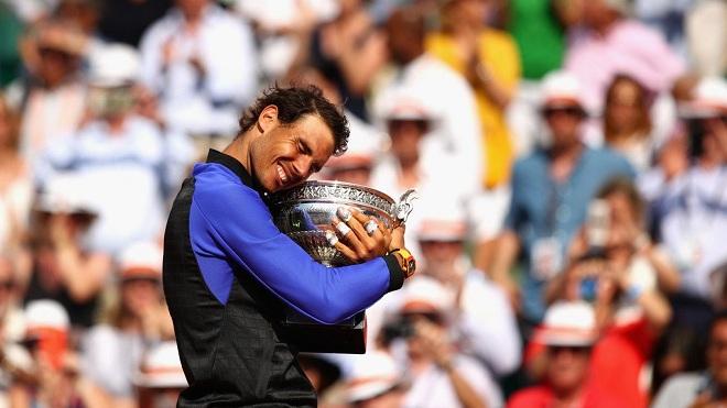 Rafael Nadal được ví là 'người ngoài hành tinh' với Roland Garros lần thứ 10