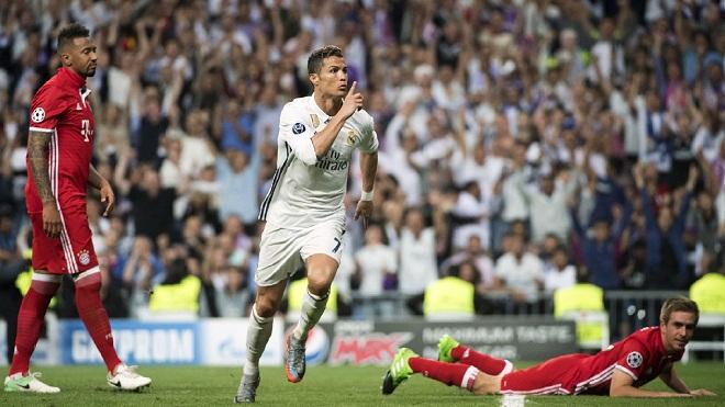 Cristiano Ronaldo giờ là 'siêu nhân' của những trận đấu lớn
