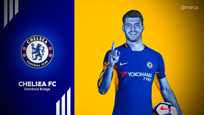 Chelsea CHÍNH THỨC mua được Alvaro Morata với giá cao kỷ lục