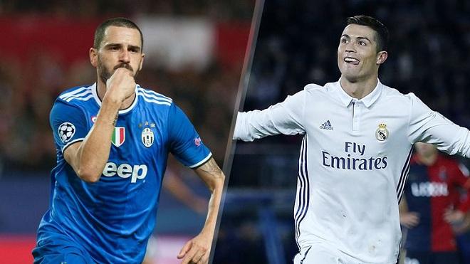 Bonucci: 'Ronaldo là cầu thủ giỏi nhất mà tôi từng đối mặt'