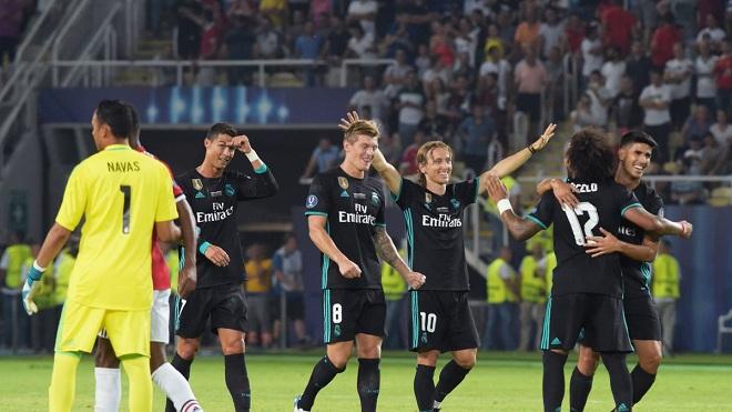 Xem video clip trận Real Madrid 2-1 Manchester United ở Siêu Cúp châu Âu 2017
