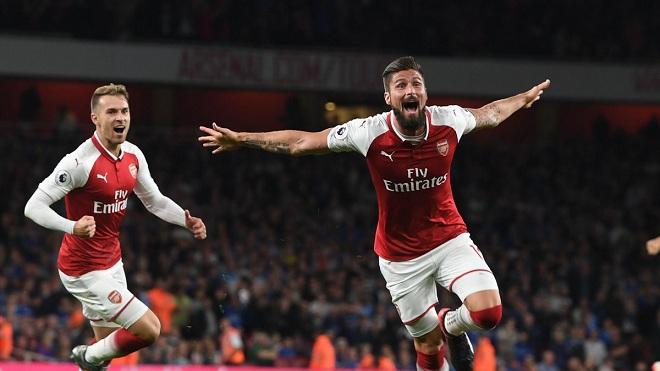 Arsenal 4-3 Leicester: Wenger thay người cao tay, 'Pháo thủ' ngược dòng kịch tính