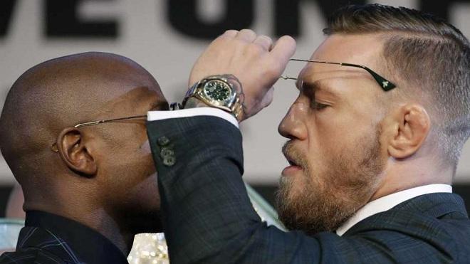 McGregor và Mayweather đối đầu nảy lửa trước thềm trận so găng lịch sử