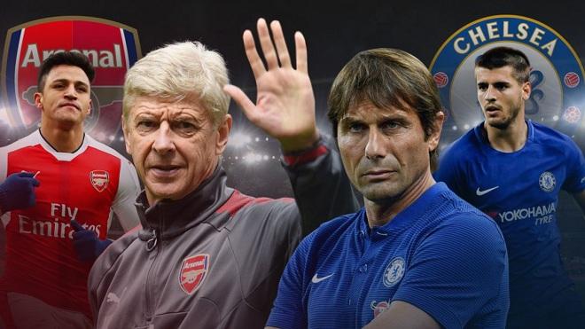 Xem TRỰC TIẾP trận Chelsea - Arsenal (19h30, ngày 17/9)
