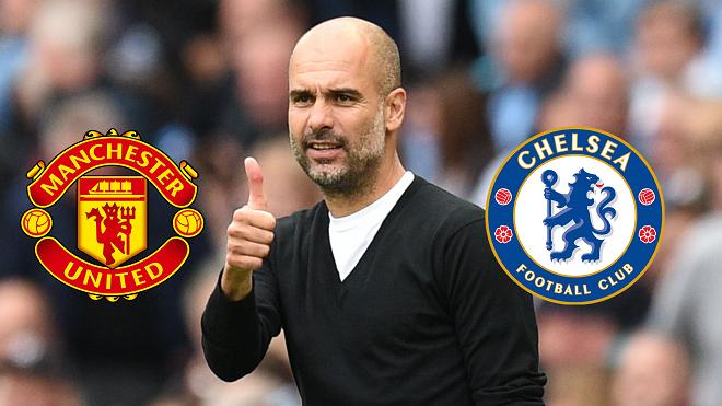 Man City đứng đầu, ghi bàn ầm ầm, Guardiola vẫn lo ngay ngáy về M.U và Chelsea