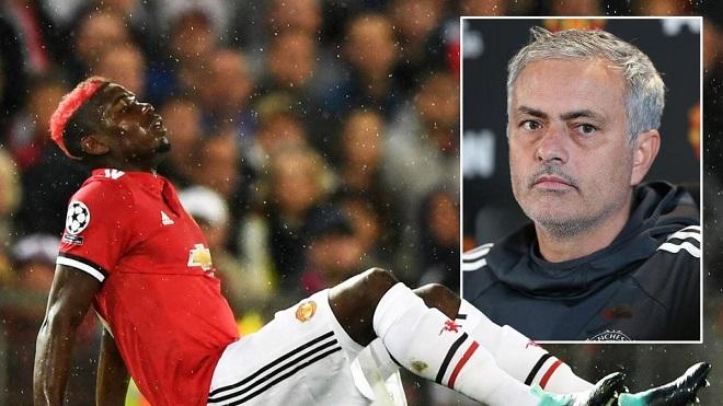Mourinho khiến fan M.U lo lắng với tiết lộ mới nhất về Pogba