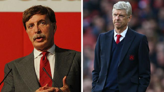 Stan Kroenke: 'Sa thải Arsene Wenger thì rất dễ, nhưng Arsenal làm việc khó'