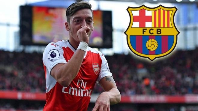Vượt mặt M.U, Barca trả lương khủng để có Mesut Oezil