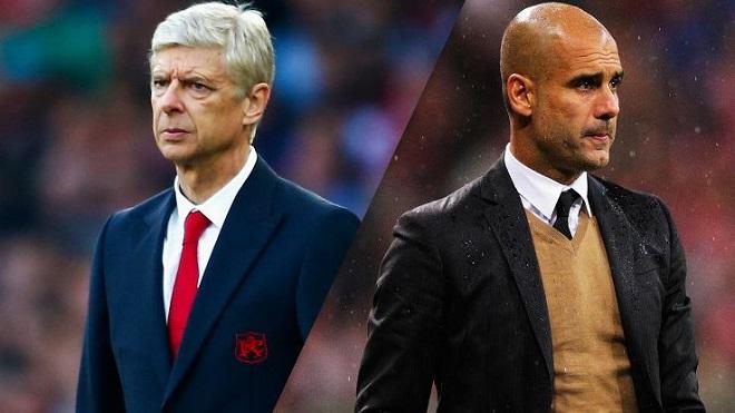 Guardiola: 'Wenger cứ bình tĩnh, Man City sẽ không phá kỉ lục của Arsenal'