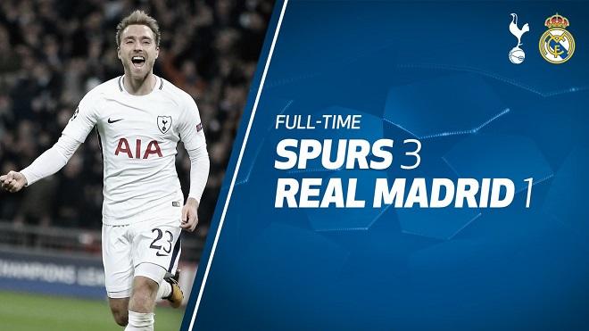Tottenham 3-1 Real Madrid: Dele Alli lập cú đúp, Spurs giành vé. Real bạc nhược thua liên tiếp