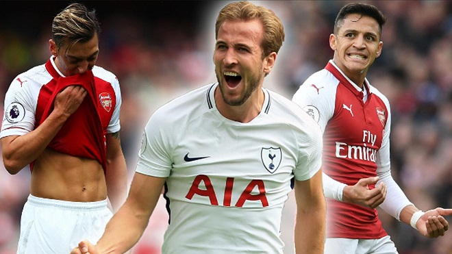 Arsenal 2-0 Tottenham: Mustafi và Sanchez lập công, 'Pháo thủ' bắn hạ 'Gà trống'