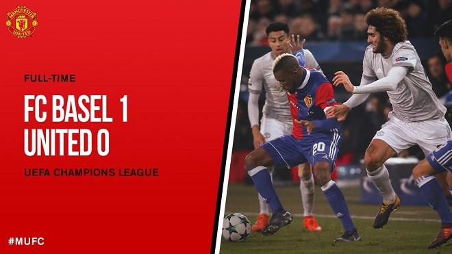Video clip highlights bàn thắng trận Basel 1-0 Manchester United